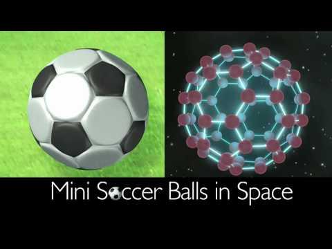 Mini Soccer Balls in Space [720p]