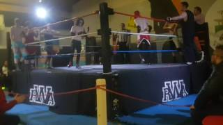 Rwa Wrestling Winsford Show 06/05/17 8 Man Tag Match