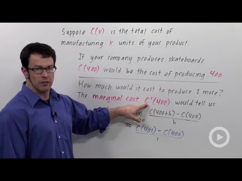 Economics: Marginal Cost & Revenue