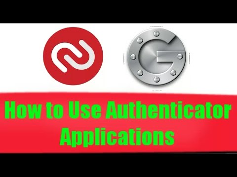 How to use authenticator applications in two step verification in Google account