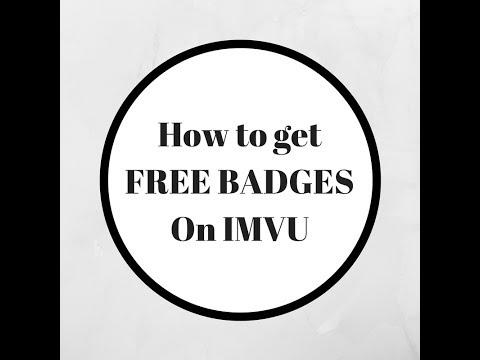 How to get free badges| IMVU