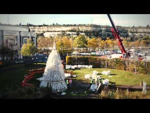 Bluewater 12m Christmas Tree - DPL Production Lighting