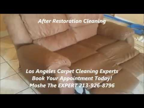 Sofa Couch Recliner Style Couch Microfiber Deep Steam Cleaning | Lynwood CA | EXPERT 213-926-8796