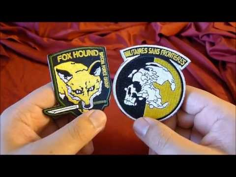 Metal Gear Solid - Foxhound and Militaires Sans Frontières Patches Review