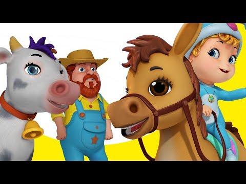 Old MacDonald Had A Farm | Nursery Rhymes for Children | Infobells