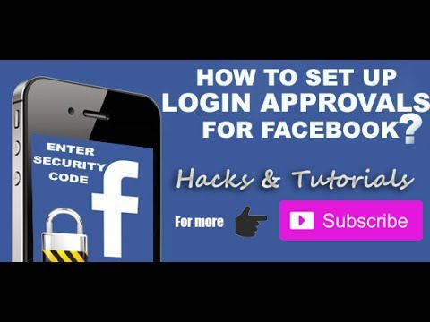 How To Activate Login Approvals on Facebook | Two-Factor Authentication | New Method | 2017
