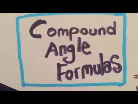Compound Angle Formulas