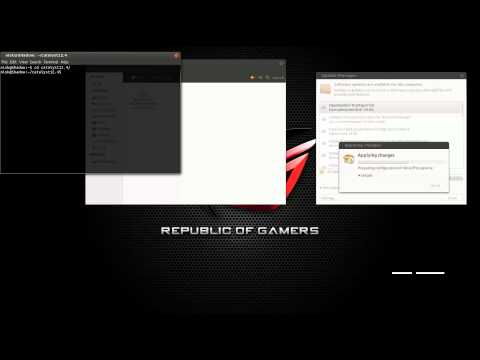 05 - Ubuntu 12.04 - Installing ATI Graphics Driver
