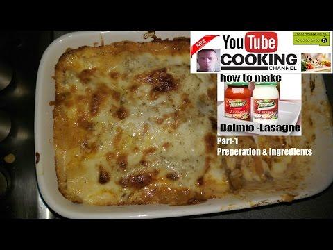 Dolmio Lasagne (Part1) Preperation&Ingredients