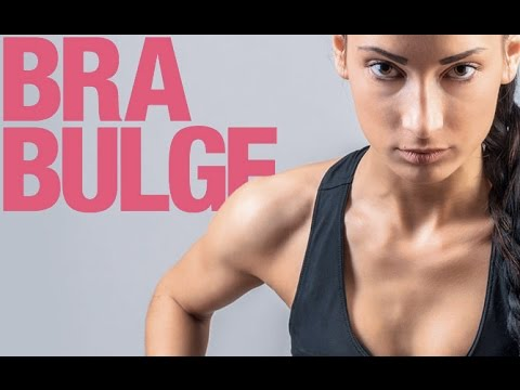 How To Burn Chest Fat (BEAT BRA BULGE!!)