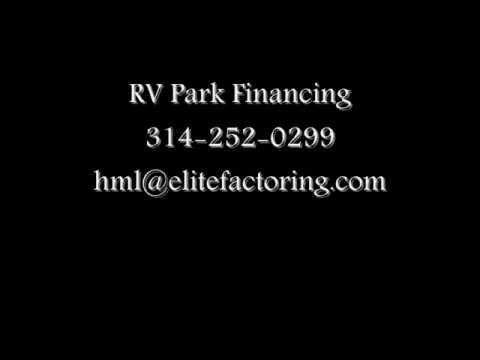RV Park Financing l 314-252-0299 l RV Park Loans