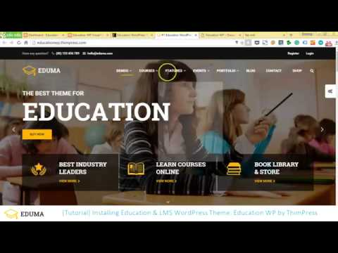 How to make an Education & LMS WordPress website using Education WP theme (With Visual Composer)