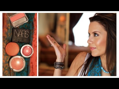 TOP 5 FAVORITE BLUSHES | Drugstore & High End