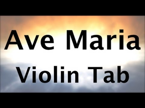 Learn Ave Maria (Easier Version) on Violin - How to Play Tutorial