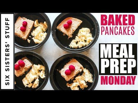 EASY Baked Pancakes Meal Prep Monday Week 3