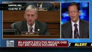 Obama's Executive Privilege over Fast & Furious Documents Unconstitutional