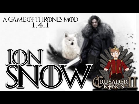 Crusader Kings 2 - A Game of Thrones Mod | Jon Snow | Episode 1 [Winter is Here]