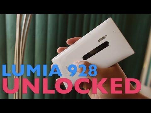 Nokia Lumia 928 Unlocked - AT&T SIM card test