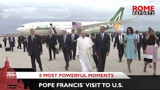 The eight most powerful moments of Pope Francis