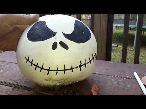 Happy Halloween making a jack skeleton by themrhelperguy