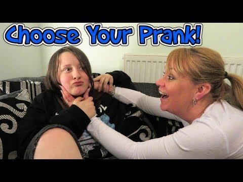 Choose Your Prank!!