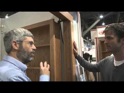InvisiDoor hidden-bookcase hardware