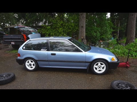 Rare JDM Wheels For The Civic!