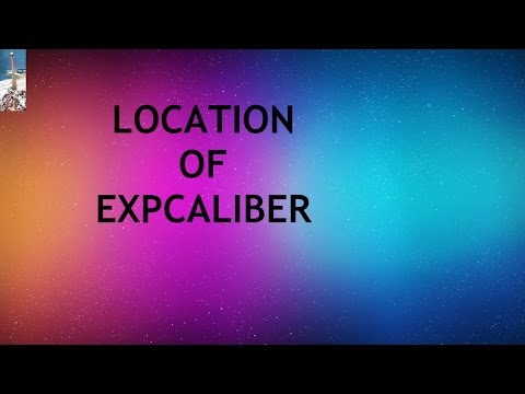 location of expcaliber
