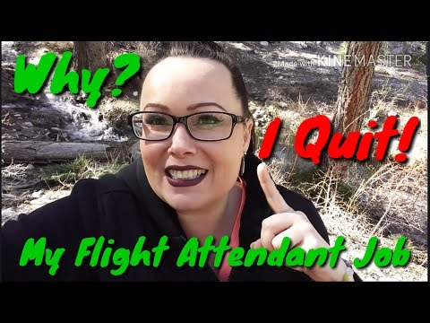 The REAL reasons I quit my Flight Attendant Job