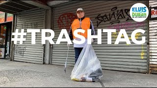 #TrashTag Challenge With Greg T | Elvis Duran Exclusive