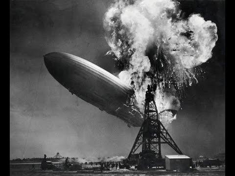 LZ129 Hindenburg, spectacular film footage