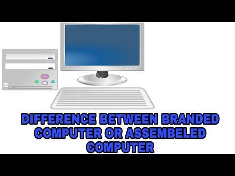 branded vs assembled pc