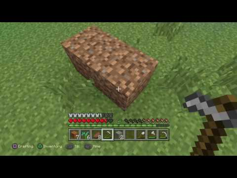 Minecraft | How to turn Coarse Dirt into normal Dirt!