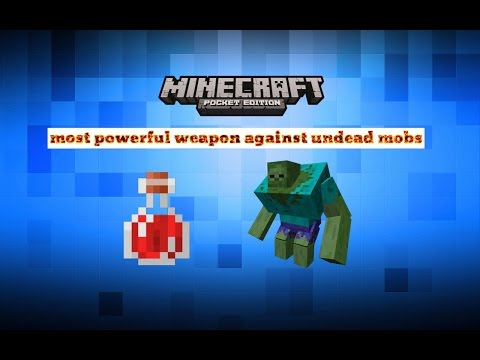 MOST POWERFUL WEAPON MINECRAFT PE