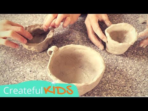 How to Make Pottery   Kids Pottery Term Lesson
