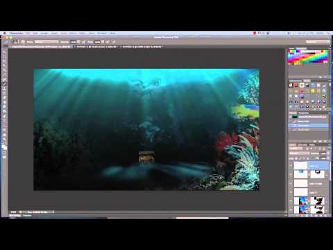 Cheat Sheet Photoshop Sea Underwater Video Tutorial