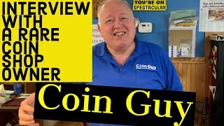 Interview with a rare coin shop owner!