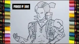 SPEED DRAWING FREE  FIRE  Videos 9tube tv
