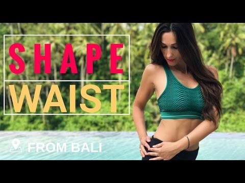 5 Best Exercises for a Slim Waist   Abs & Waist Workout from Bali