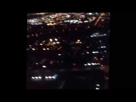 Flight AC1930 Toronto to Manchester UK. (Night flight)