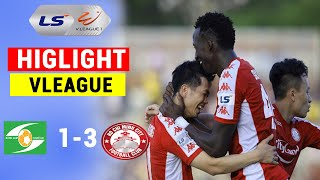 Highlight  | TP Hồ Chí Minh vs Sông Lam Nghệ An | Công Phượng Tỏa Sáng Văn Đức Tắt Điện | 360 Sports