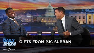 Gifts from P.K. Subban: The Daily Show