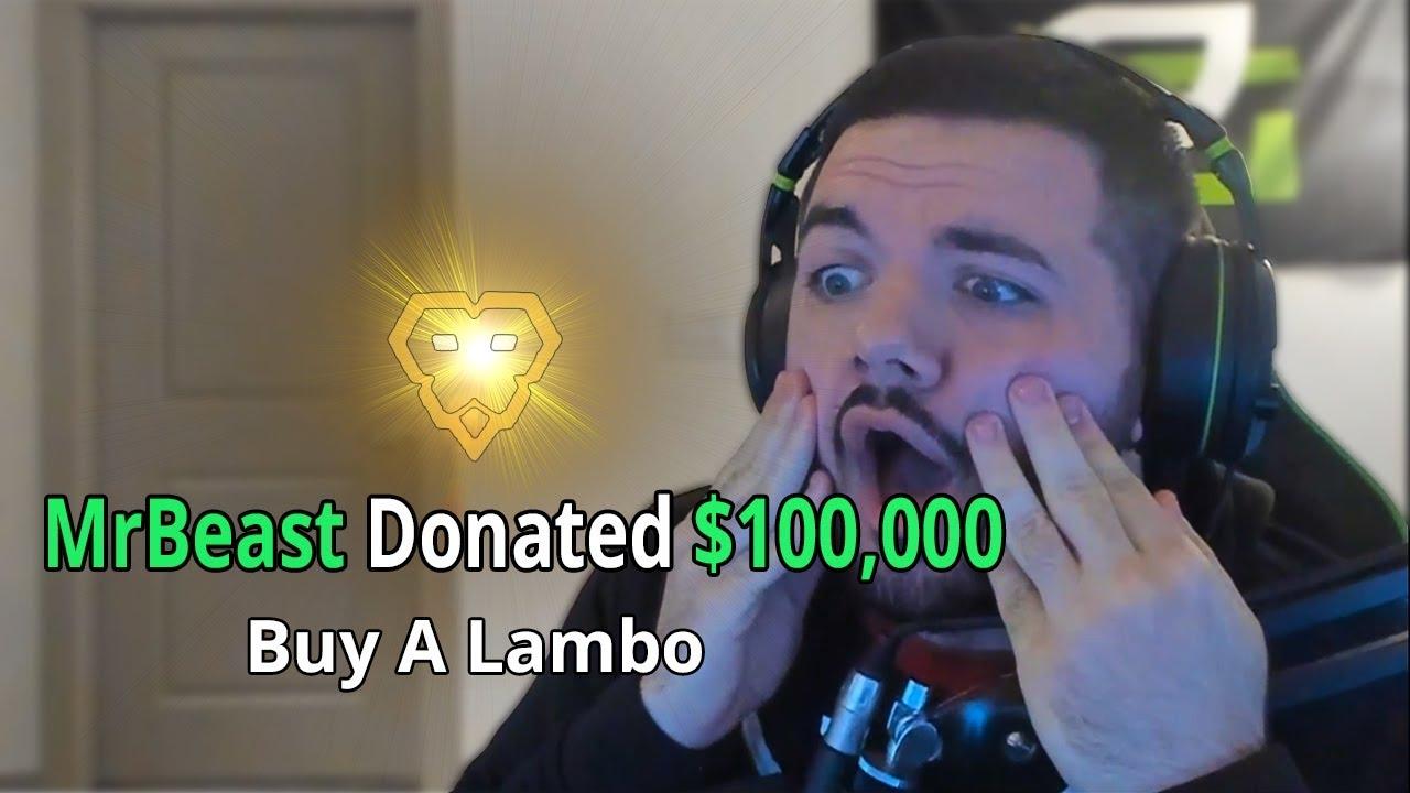 Donating $100,000 To A Random Fortnite Streamer