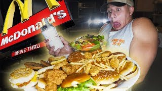 Eating Everything on the McDonald's Menu!