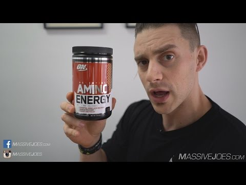 Optimum Nutrition Essential AmiNO Energy Supplement Review - MassiveJoes.com RAW Review ON AmiN.O.