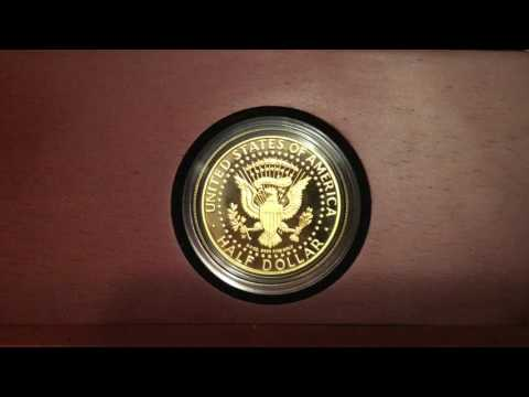 Kennedy Gold Coin - US Mint Review