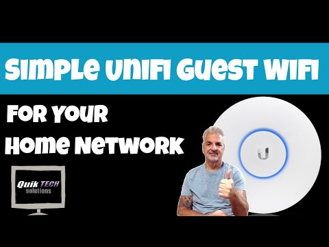 How To Create a Simple Guest Wifi For Your Home