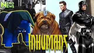 Inhuman Set Photos REVEAL Secret Character?! Black Bolt, Lockjaw and MORE Explained!