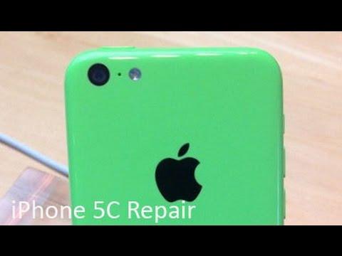 iPhone 5C Headphone Jack Repair (Time Lapse)