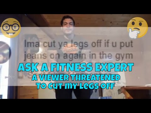 ASK A FITNESS EXPERT!: WHY DO I WEAR JEANS TO THE GYM? DONT CUT MY LEGS OFF!